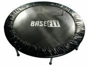 Батут спортивный BaseFit TR-101 137 см, черный