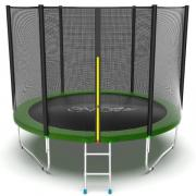 Батут EVO Jump External 10ft с внешней сеткой и лестницей