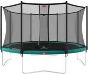 Батут BERG Favorit Green 380 + защитная сетка Safety Net Comfort (35.12.07.06+35.74.12.03) [35.12.01.03]
