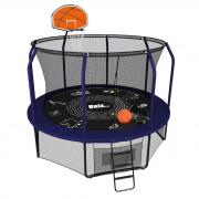 Батут UNIX line SUPREME GAME 10 ft + Basketball синий
