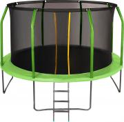 Батут JUMPY Premium 12 FT (Green / Blue)