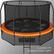 Батут Clear Fit FamilyHop 10Ft