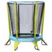 Hudora Батут Kindertrampolin Safety 140 с защитной сеткой