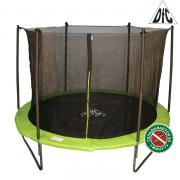 Батут DFC JUMP 6ft складной, сетка, чехол, apple green (183см) 6FT-TR-EAG