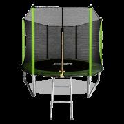 ARLAND Батут 8FT с внешней страховочной сеткой и лестницей (Light green) (СВЕТЛО-ЗЕЛЕНЫЙ)