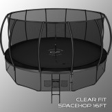 Clear Fit SpaceHop 16Ft Батут