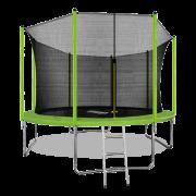 ARLAND Батут 12FT с внутренней страховочной сеткой и лестницей (Light green) (СВЕТЛО-ЗЕЛЕНЫЙ)