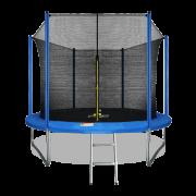 ARLAND Батут 10FT с внутренней страховочной сеткой и лестницей (Blue)