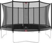 Батут BERG Favorit Grey 380 + защитная сетка Safety Net Comfort (35.12.13.00+35.74.12.03) [35.12.94.01]