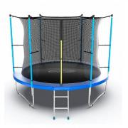Каркасный батут EVO Jump 10FT Internal 305х305х254 см blue