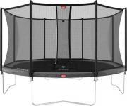 Батут BERG Favorit Grey 430 + защитная сетка Safety Net Comfort (35.14.13.00+35.74.14.03) [35.14.94.01]