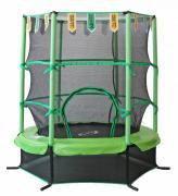Батут Sportelite GB30101-4.5FT с сеткой 137 см, black/green/yellow