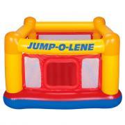 Батут надувной INTEX JUMP-O-LENE, стенки-сетки, с дверцей, 48260, 174x174x112