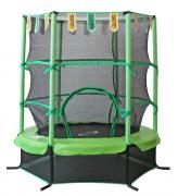 Батут SportElite 4,5FT 1,37м SportElite с защитной сеткой внутрь, салатовый GB30101-4.5FT