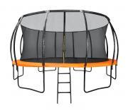 Батут DFC KENGOO 18 футов (549 см) внутр.сетка, лестница, оранж/черн 18FT-TR-E-BAS