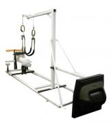 Тренажер для пловцов VASA имитирующий состояние пловца с силовым блоком VASA