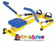 Детский гребной тренажер SH-04 Moove&Fun с двумя рукоятками