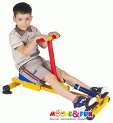 Детский гребной тренажер Moove&Fun SH-04-A с одной рукояткой