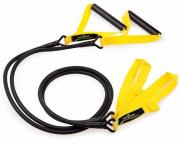 Гребной тренажер Mad Wave Trainer with plastic handle желтый