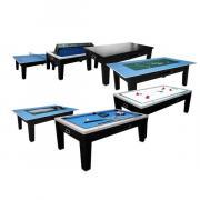 Многофункциональный игровой стол 6в1 Tornado (черный) 218см