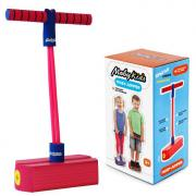 Джампер Moby-Jumper Moby Kids Тренажер для прыжков со звуком, розовый 68556