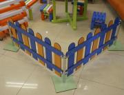 Ограждение ПТК Спорт декоративное 600х1000 мм, пластик