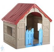 Домик детский KETER FOLDABLE PLAYHOUSE (102х90х111)
