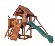 Игровая площадка Green Hill с балконом