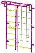 Детский спортивный комплекс Пионер SG000003493 С104М пурпурно/жёлтый
