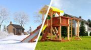 Детская площадка Савушка 4 сезона - 5