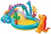 Детский надувной игровой центр Intex (Интекс) Дракоша, 333х229х112 см (57135)