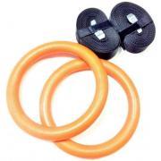 Кольца гимнастические LIVE UP LS3675 (оранжевый)