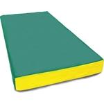Мат КМС № 1 (100 x 50 x 10) зелено-желтый