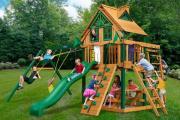 Детский игровой комплекс PlayNation Рассвет Трихауз с рукоходом