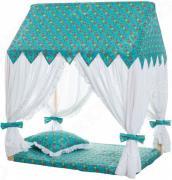 Домик текстильный с пуфиком PAREMO «Дворец Жасмин»