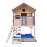 Детский деревянный городок DFC DKW298 (7 коробов + горка)