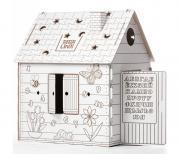 Картонный домик КДР03-001 BIBALINA