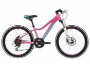 "Велосипед Stinger 24"" Fiona Pro 12"", TY500/M310/TS-38, розовый (24AHD.FIONAPRO.12PK88)"