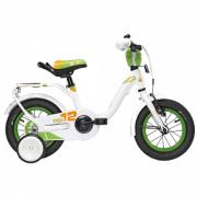 """Велосипед scool 15"""" Nixe 12"""" White/Green 14001"""