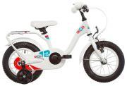 "Велосипед Scool Nixe 12"" steel Белый"