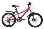 Велосипед Novatrack KATRINA 20 6 D (2021) розовый метал (требует финальной сборки)