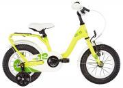"Велосипед Scool Nixe 12"" steel Желтый"