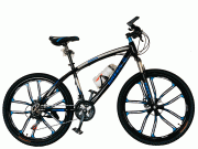 Велосипед на литых дисках Green Bike Navy