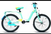 "Велосипед Scool Nixe 16"" alloy lightblue matt"