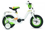 """Велосипед Scool Nixe 12"""" White/Green"""