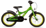 """Велосипед Scool XXlite 16"""" steel green/yellow 4021"""
