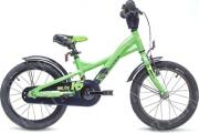 "Велосипед Scool XXlite 16"" alloy lemon/black matt"