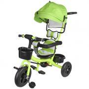 Велосипед 3-х колесный VELD CO салатовый надувные колеса 75080