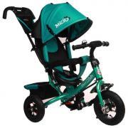 Велосипед 3-х колесный Micio Classic Air надувные колеса бирюзовый 3871489