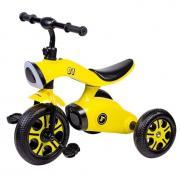 Детский трехколесный велосипед (2021) Farfello S-1201, желтый